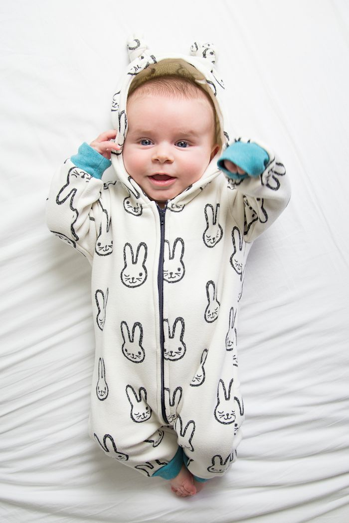 Baby onesie by Sewingridd