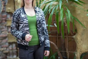 Jungle fever pants & bomber by Sewingridd