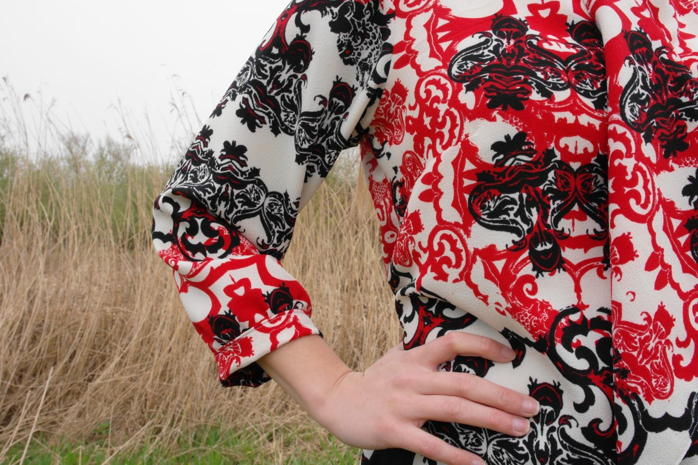 Cosette Blouse by Sewingridd