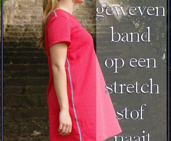 Heb je je ooit afgevraagd hoe je geweven band goed op een stretch stof naait? In dit blog geeft Sewingridd je verschillende tips waarmee het zeker lukt!