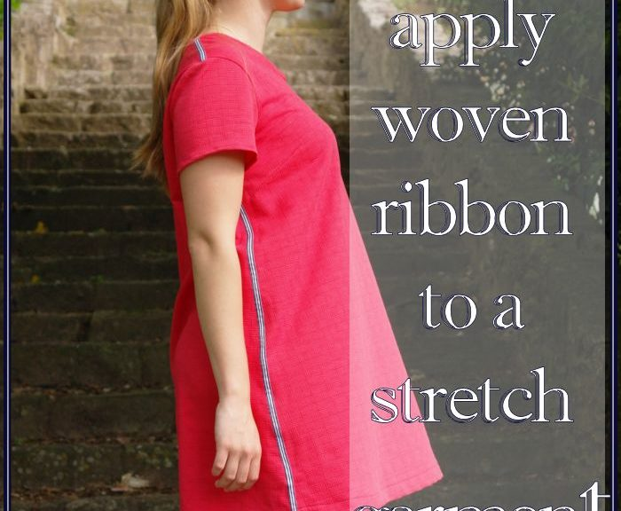 Ever wondered how to properly apply woven ribbon to a stretch garment? In this blog by Sewingridd you'll find out about multiple techniques that will help you!