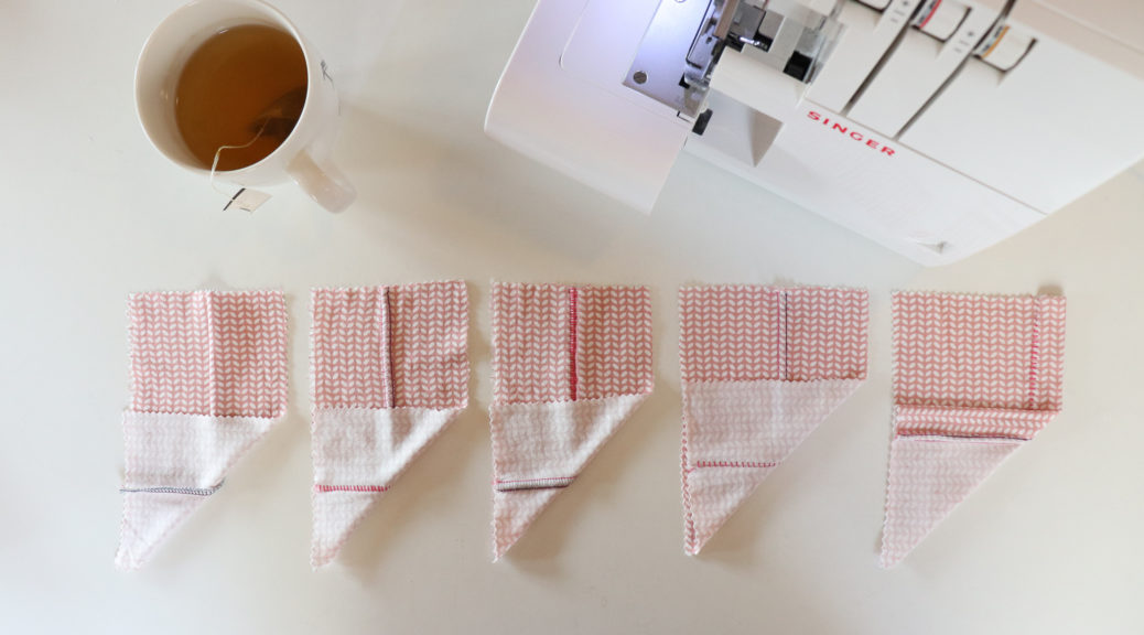 Tutorial on how to sew flat felled seams (flatlock) by Sewingridd