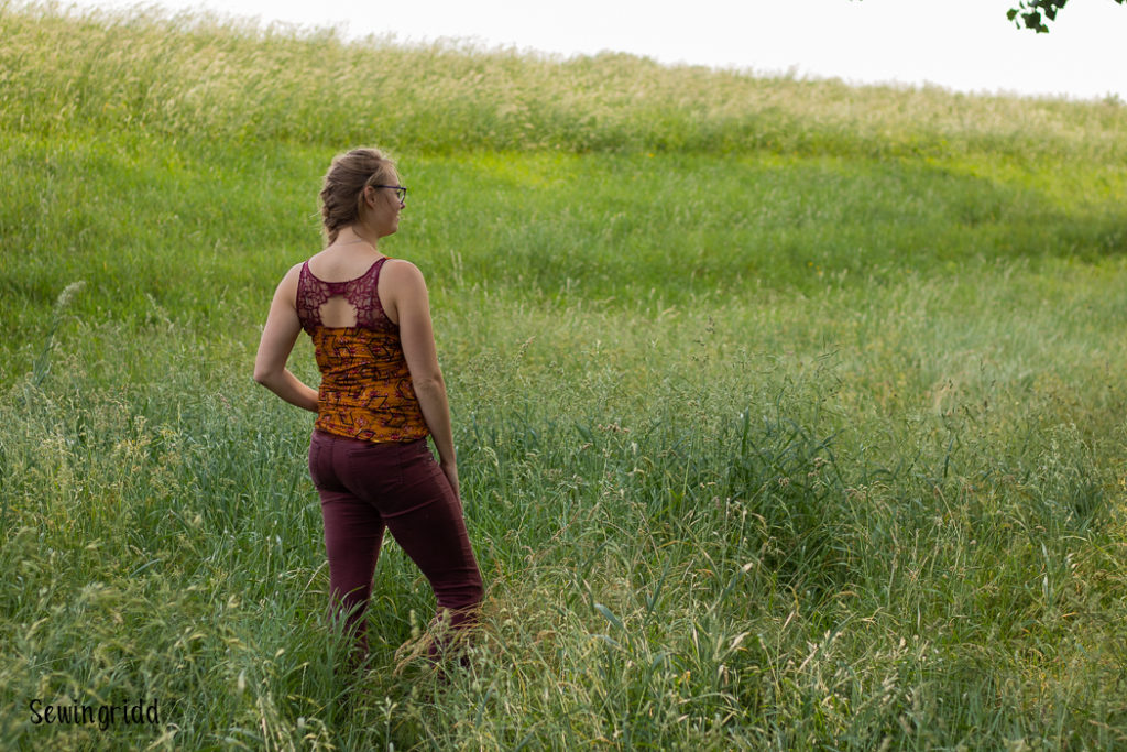 Marbella tank sewn by Sewingridd. New Horizon Designs Summer Blog Tour: giveaway & discount code