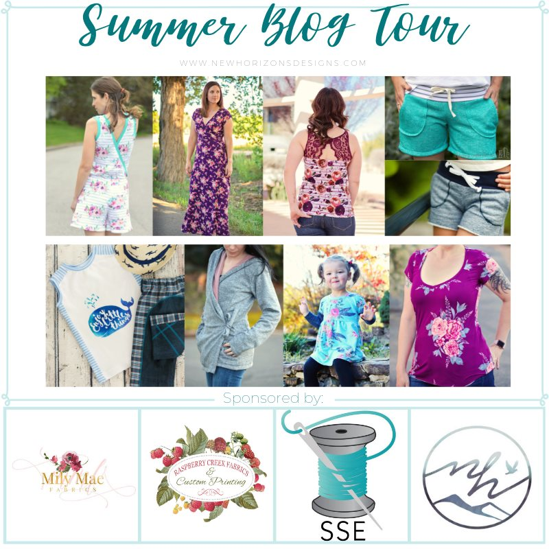 Sewingridd's stop at the New Horizon Designs Summer Blog Tour: giveaway & discount code