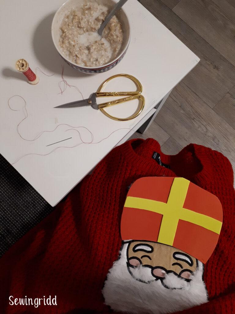 Zelf je Sinterklaastrui knutselen?! Tutorial door Sewingridd