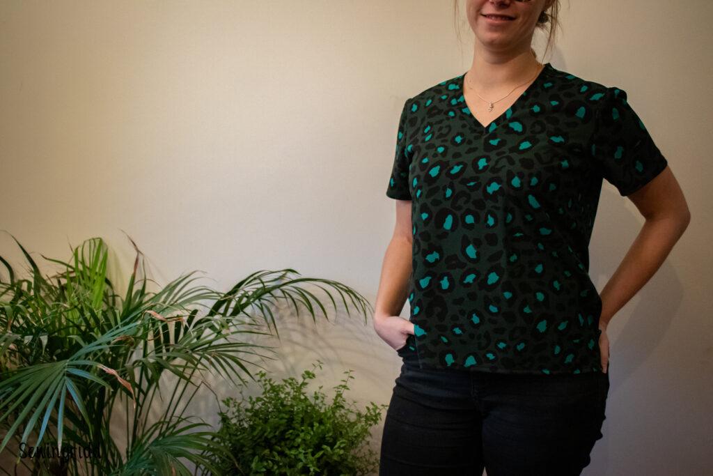 Tshirt sewn by Sewingridd