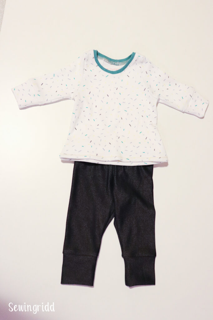 Baby clothes sewn by Sewingridd