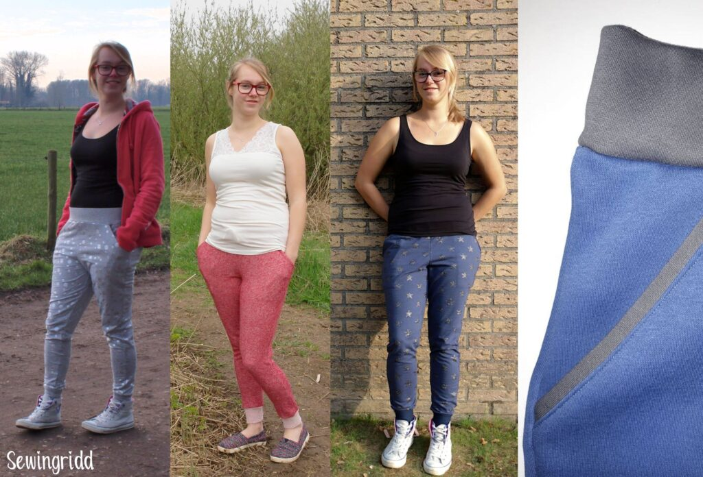 Skye Joggers by Blank Slate Patterns, Sewn by Sewingridd